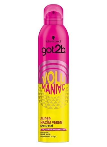 Got2b Got2B Volumaniac Sprey 300 Ml Renksiz